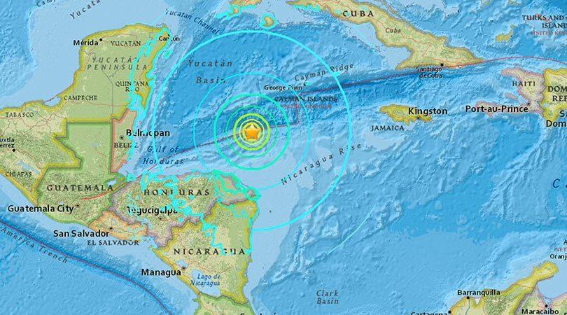 VIDEOS |Los primeros registros del terremoto 7,6 que sacudió a Honduras