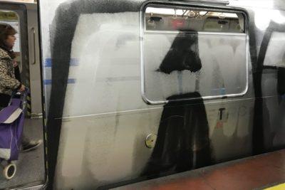 """""""Con respeto…"""": polémica respuesta de Metro a grafitero que quiso trolear tras incidente por rayado"""