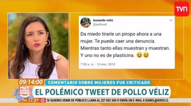 """""""No soy perro para que me anden silbando"""": periodista de TVN frena a Karen Paola por avalar el acoso callejero"""