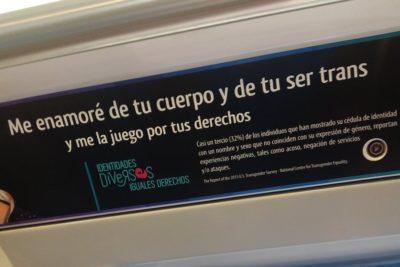La aplaudida respuesta del Metro de Santiago a pasajero que cuestionó mensaje sobre personas trans