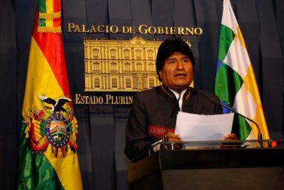 """Demanda marítima: Evo Morales asegura que """"vamos a batir récord internacional"""" con bandera gigante"""