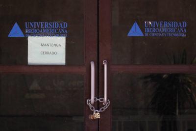 Consejo de Educación Superior ratifica el cierre de la U. Iberoamericana