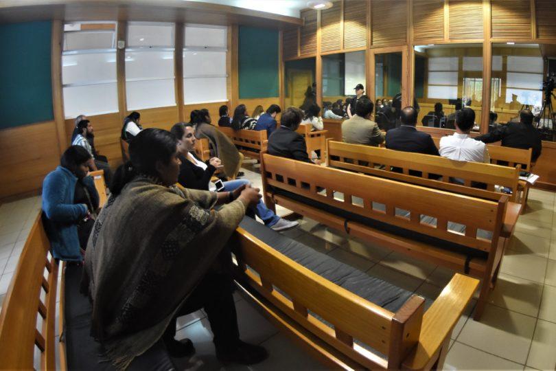 Solo llegó el juez y la prensa a la audiencia por Operación Huracán
