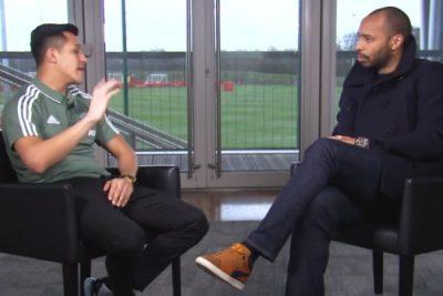 """Alexis Sánchez le explica a Henry por qué se fue de Arsenal: """"Vine al United a ganarlo todo"""""""
