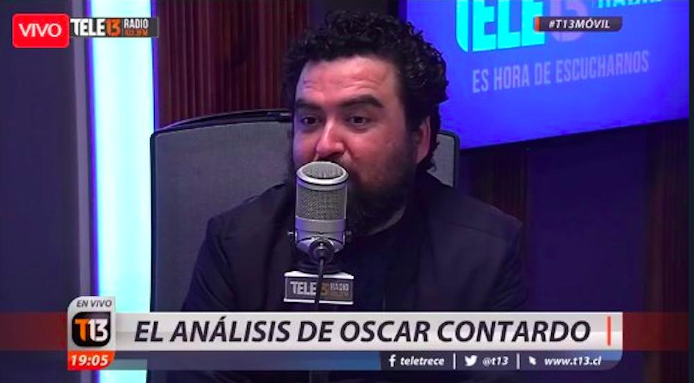 """Conocido panelista de T13 Radio renuncia y critica """"encubrimiento"""""""