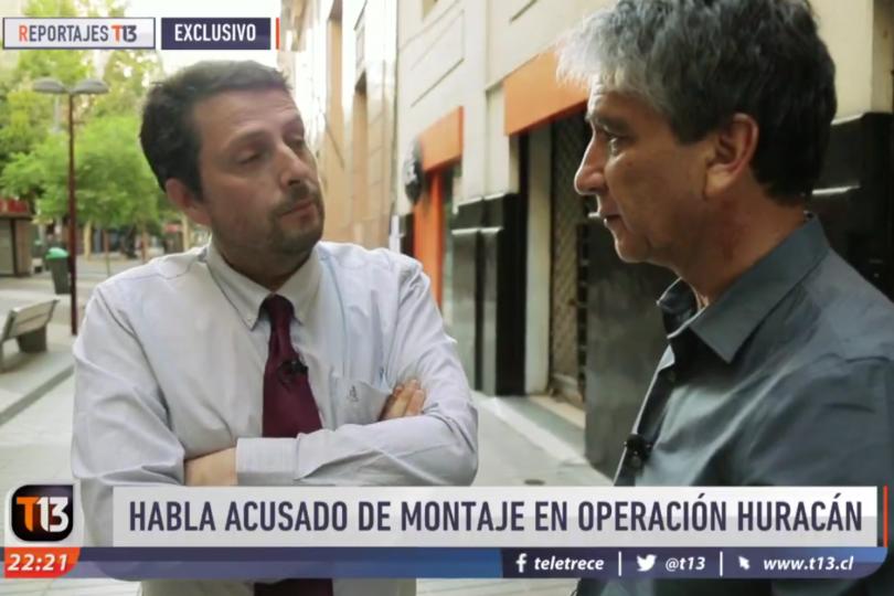 """Reportaje de T13 convenció a Gustavo Hasbún: diputado acusa """"operación de Fiscalía contra Carabineros"""""""