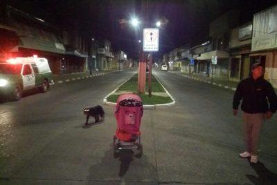 Madre ebria abandona a su bebé en plena calle en Lautaro
