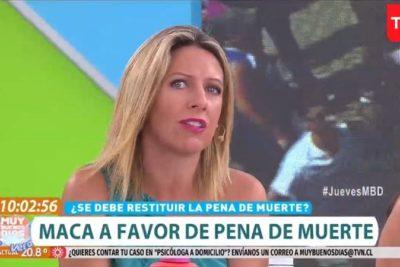 """TVN no le renueva contrato a Macarena Tondreau y deja """"Muy Buenos Días"""""""