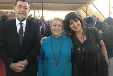 """""""Quise gritar 'antorcha, antorcha', pero…"""": imperdible troleo de la esposa de Aleuy en pleno Viña 2018"""