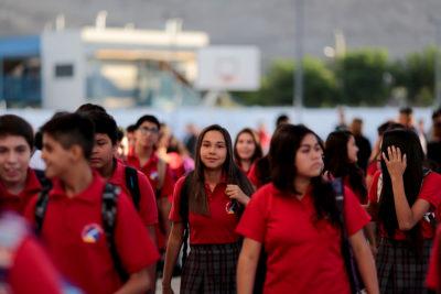 Se acabaron las vacaciones: 275 mil alumnos entrarán a clases en febrero