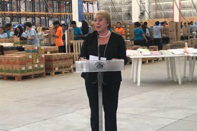 """Bachelet: """"Los cambios estructurales en educación no se hacen a cada rato"""""""