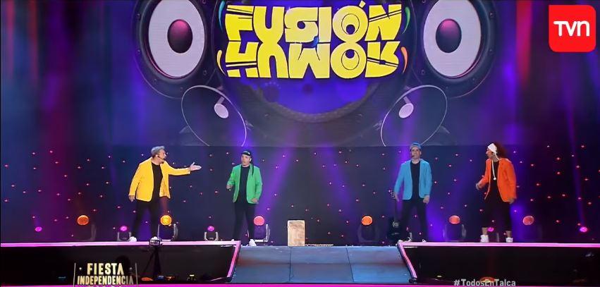 """VIDEO   """"Querís saber qué es mala educación?"""": Fusión Humor lanza palos a Piñera en la rutina más política de Festival de Talca"""