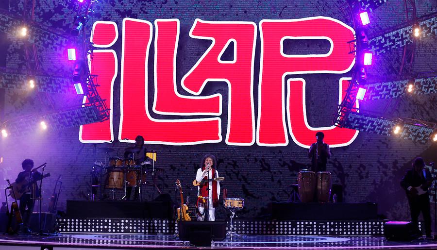 Illapu salió a las 03.30 a cantar en el Festival de Viña y paró los carros en el escenario