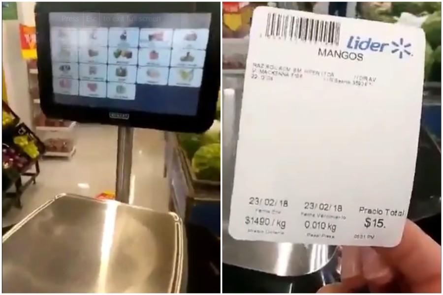 VIDEO |Walmart explica por qué balanza de Líder subía precios de productos de forma automática