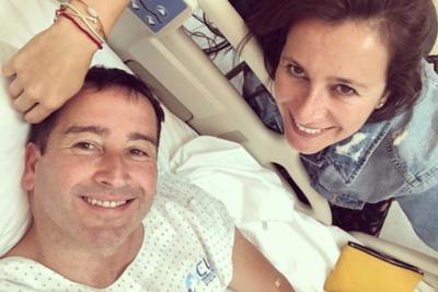 """Esposa de Eduardo Fuentes: """"Tuvimos tanta suerte de encontrarnos"""""""