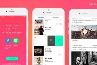 Record Bird, la app que te mantiene actualizado sobre lo nuevo de tus artistas favoritos