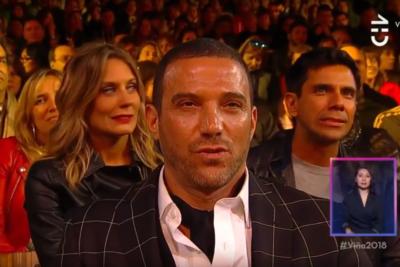 VIDEO | Las caras de los famosos durante la parte más tensa de la rutina de Bombo Fica lo dicen todo