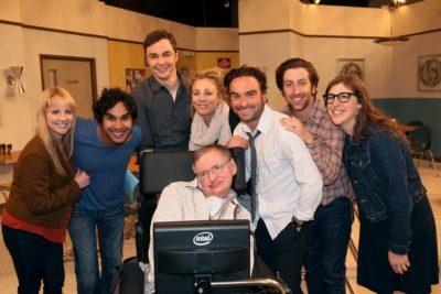 FOTO |El homenaje de The Big Bang Theory a Stephen Hawking