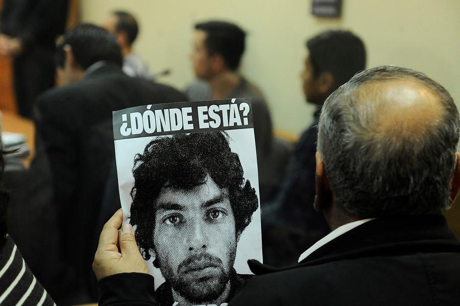 Fiscalía pide 23 años de cárcel por desaparición de José Vergara