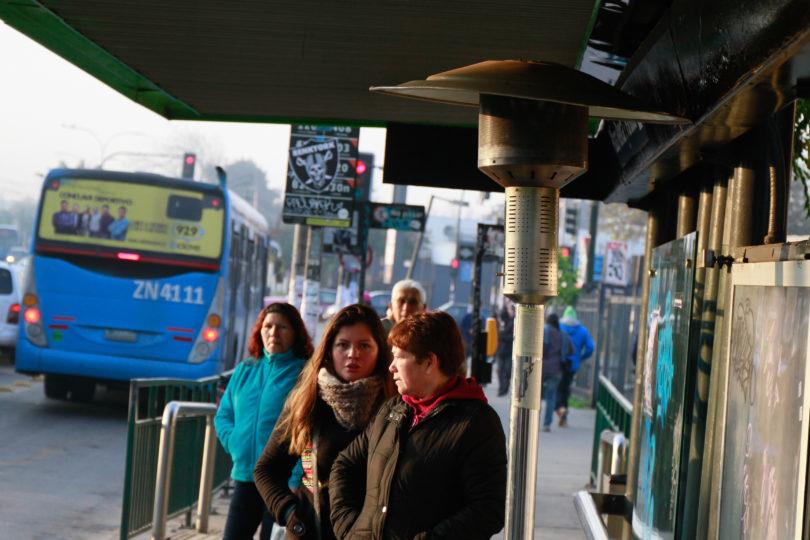 Huelga de conductores del Transantiago afecta a doce servicios en Renca