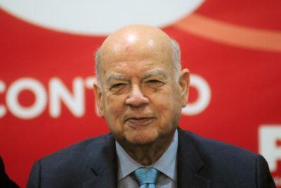 """Insulza: """"En el período de Jorge Burgos fue cuando hubo más disenso al interior de la coalición"""""""