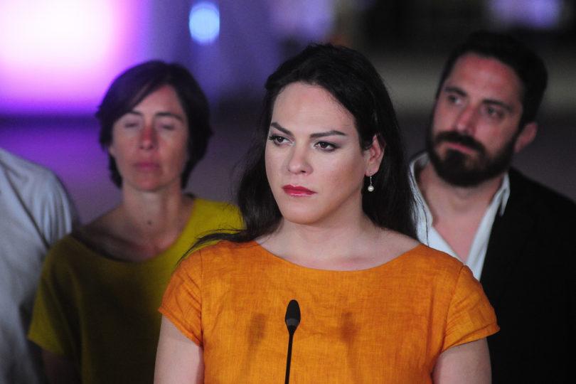 Daniela Vega le envió mensaje de apoyo a Carolina Torres por agresión lesbofóbica