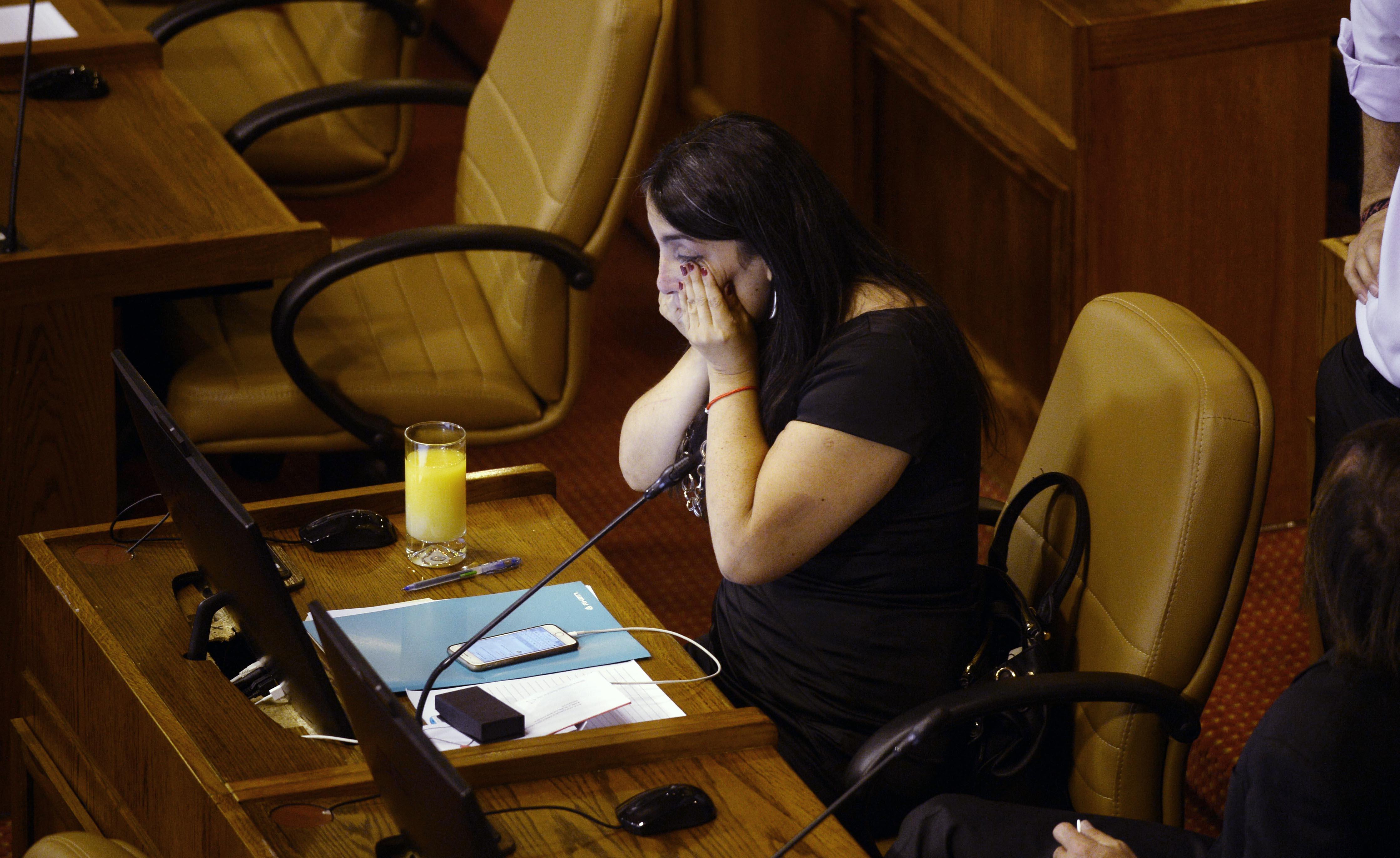 """""""Trece fotos de la lacrimógena despedida de los diputados que dejan la Cámara"""""""