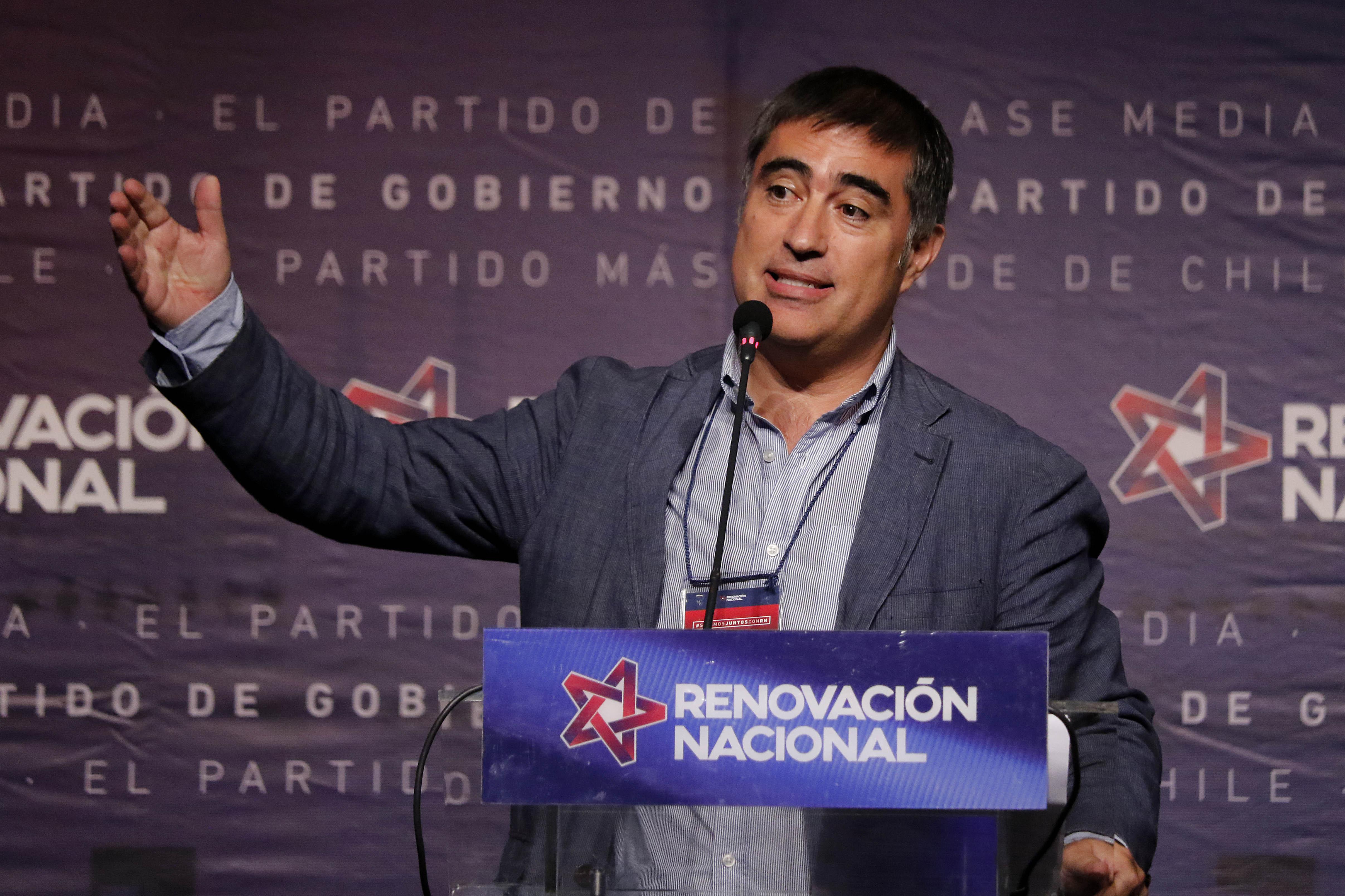 """""""Renovación Nacional elige a Mario Desbordes como su nuevo presidente"""""""