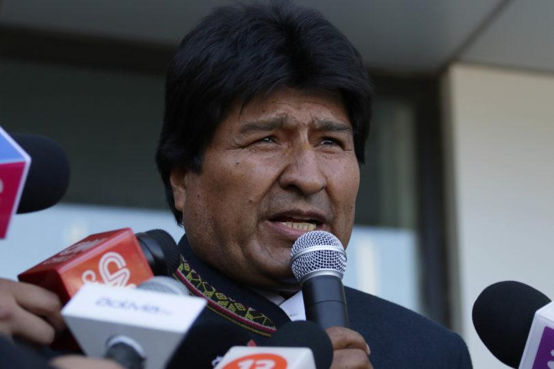 Evo Morales confirma su asistencia en la toma de protesta de AMLO