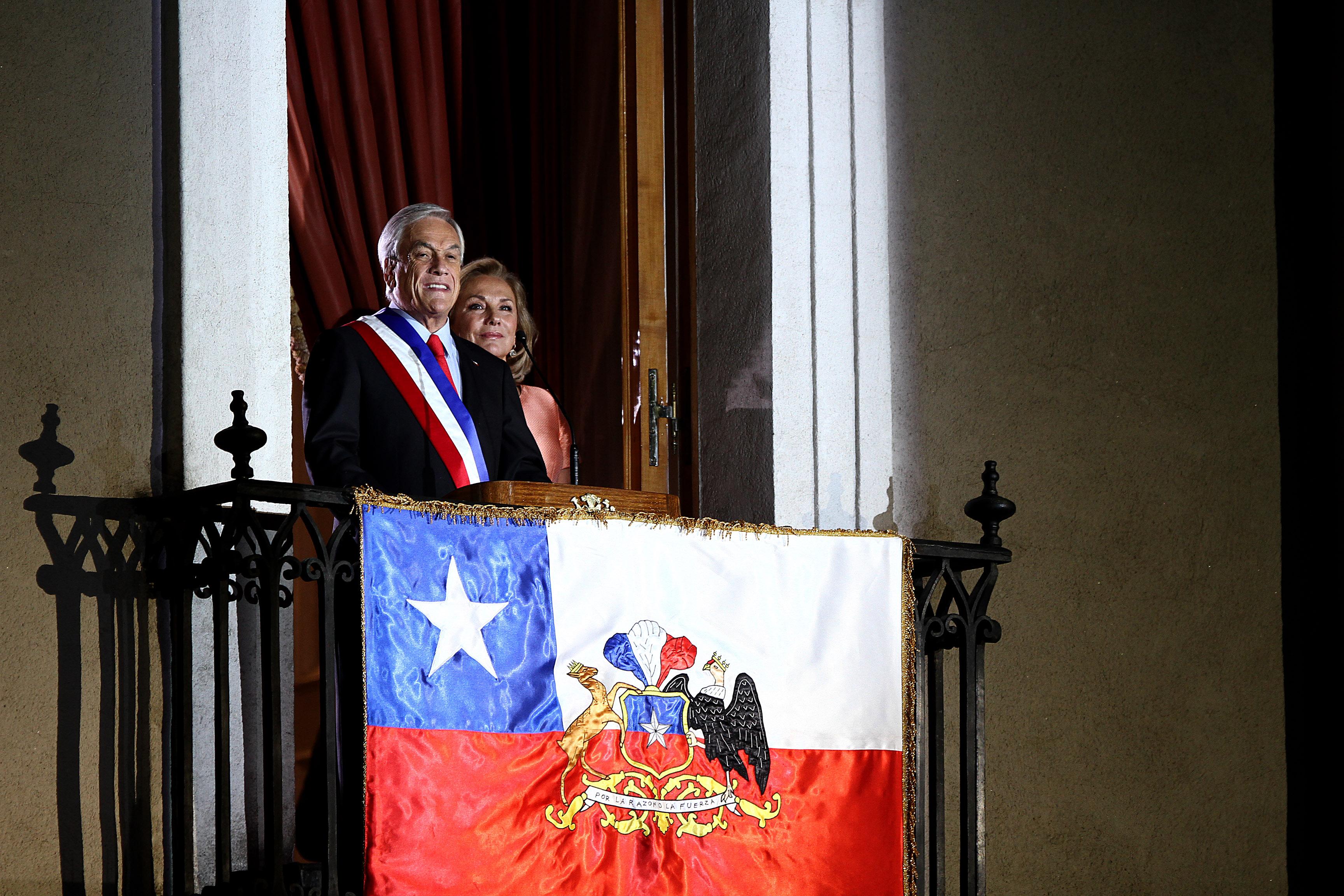"""""""Los cinco grandes acuerdos a los que convocó Sebastián Piñera en su primer discurso en La Moneda"""""""
