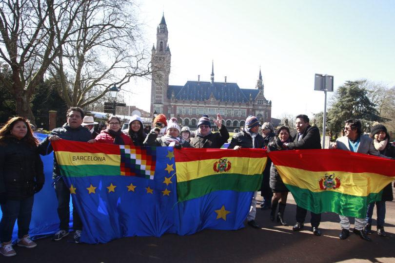 Al borde la euforia: así reaccionó la prensa boliviana en el primer día de alegatos en La Haya