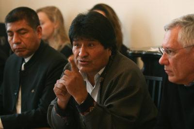 """Evo Morales se retracta de crear milicias armadas: """"Mi convicción es la defensa de la paz"""""""