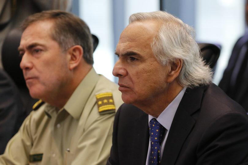 """Ministro Chadwick anuncia creación de """"policía antiterrorista"""" para el sur del país"""
