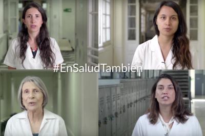 Colegio Médico lanza campaña para terminar con el acoso y discriminación a mujeres trabajadoras de la salud