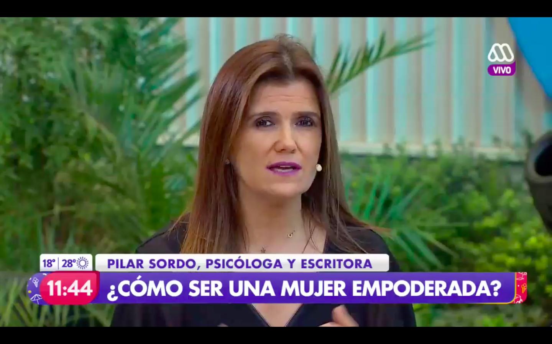 """Mega puso a Pilar Sordo a explicar cómo """"hay que ser una mujer empoderada"""""""