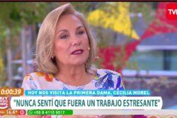 "VIDEO | Cecilia Morel confesó que se ""pichicatea"" con Armonyl para poder dormir"