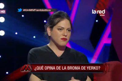 VIDEO | Daniela Vega responde por primera vez a chiste de Yerko Puchento