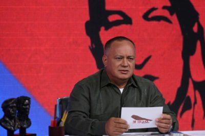"""Presidente de la Asamblea Constituyente de Maduro: """"Nos han amenazado con una ayuda humanitaria"""""""