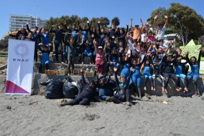 Comienza la temporada 2018 de los talleres de Surf para niños y jóvenes de Concón