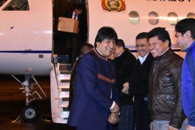Evo Morales ya está en La Haya de cara a alegatos por demanda marítima