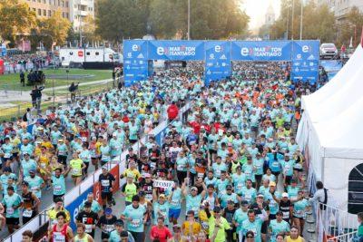 Se agotaron los cupos: serán 30 mil las personas que correrán en el Entel Maratón de Santiago 2018