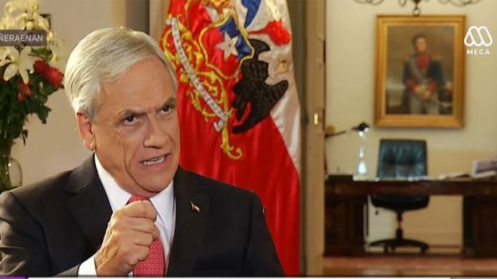 """Piñera: """"Guillier quebró la unidad de los chilenos"""""""