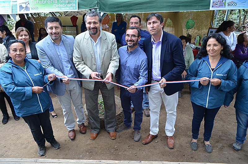 Quillotanos inauguran ampliación de centro de acogida y otros proyectos comunitarios