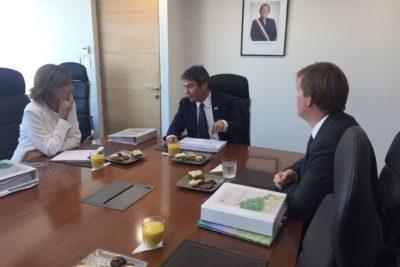 Futura Ministra de Medio Ambiente, Marcela Cubillos, sostuvo reunión bilateral con el actual ministro, Marcelo Mena