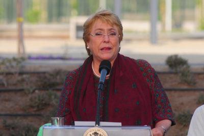 """Bachelet acusó a sus detractores de un """"sesgo sexista y machista"""""""