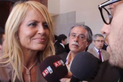 Finalmente liberan video con el momento más incómodo de Cecilia Bolocco en el cambio de mando