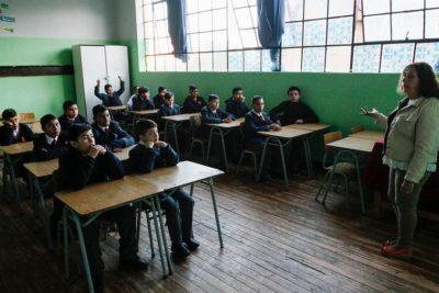Paro de profesores por desmunicipalización: 27 de 77 establecimientos se encuentran sin clases