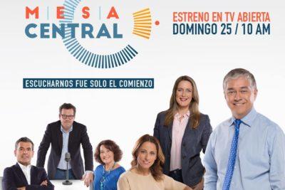 Mesa Central: la nueva apuesta política de Canal 13 para reemplazar a En Buen Chileno