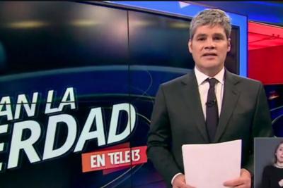 Canal 13 le baja la cortina al bloque deportivo en Teletrece durante la semana