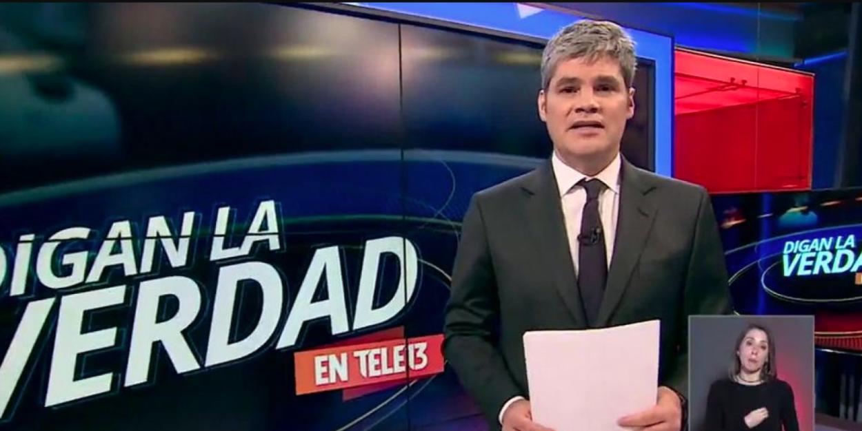 """""""Canal 13 le baja la cortina al bloque deportivo en Teletrece durante la semana"""""""